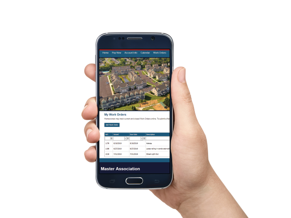 Homeowners Association App on Cell Phone
